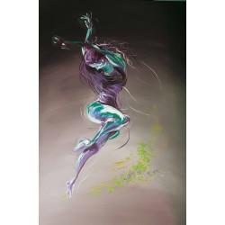 Danseuse mouvement